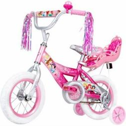"""12"""" Huffy Disney Princess Girls' Bike with Doll Carrier todd"""
