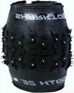 """Arisun Sharktooth 7.5 Studded 26 x 4.0"""" 120TPI Fat MTB Bike"""