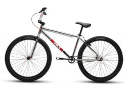 "2019 DK Legend 26"" BMX Bike Chrome Retro Cruiser Complete BM"