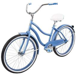"Huffy 24"" Cranbrook Girls' Cruiser Bike with Perfect Fit Fra"