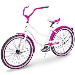 Huffy Cruiser Bike Womens & Mens, Fairmont 24-26 inch