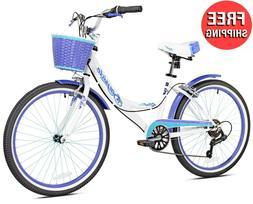 """24"""" Girls Cruiser Bike Womens Adults Bicycle 24-inch Wheels"""
