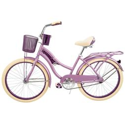 "Huffy 24"" Nel Lusso Girls' Cruiser Bike - Purple"