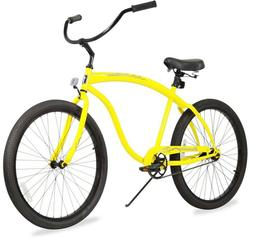 "Firmstrong Bruiser Single Speed - Men's 26"" Beach Cruiser Bi"