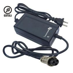 24V 1.5A Scooter Bike 3Prong Battery Charger For Razor E100