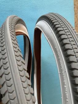 "Huffy 24""x 2.35"" Cruiser Bicycle Tires Set Of 2 Brand Ne"