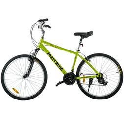 "26"" Aluminum Road Cruiser Bike 21 Speeds Shimano Bicycle Fro"