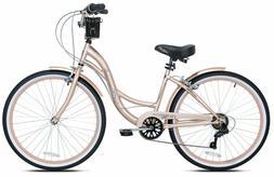 26 bayside women s cruiser bike rose