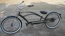 "26"" Beach Cruiser 3 speedMicargi Mustange-GTS-NX3 bike bic"