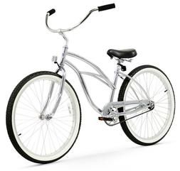 "26"" Beach Cruiser Bike Bicycle Firmstrong Urban Men Chrome"