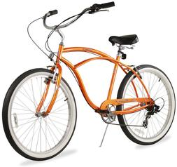 "26"" Beach Cruiser Bike Bicycle Firmstrong Urban men 7 spd or"