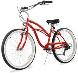 "26"" Beach Cruiser Bike Bicycle Firmstrong Urban women 7 spd"