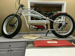 Micargi 26'' Bike Bicycle  Electric Fat Tire E Bike Cruiser