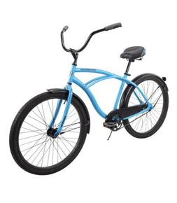 "HUFFY 26"" CRANBROOK CRUISER BIKE MEN'S ""MATTE BLUE"" BR"