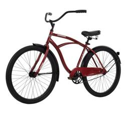 "Huffy 26"" Cranbrook Men's Beach Cruiser Bike, Red"