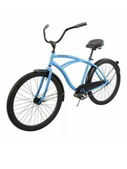 "Huffy 26"" Cranbrook Men's Comfort Cruiser Bike, Matte Blue B"