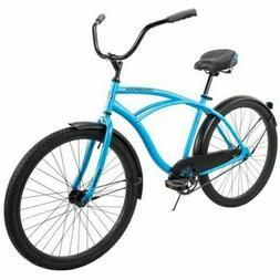 """Huffy 26"""" Cranbrook Men's Comfort Cruiser Bike Matte Blue SH"""