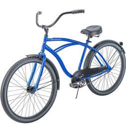 "Huffy 26"" Cranbrook Men's Comfort Cruiser Bike, Royal Blue N"