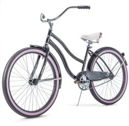 "Huffy 26"" Cranbrook Women's Cruiser Bike with Perfect Fit Fr"