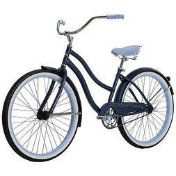 "Huffy 26"" Cranbrook Womens Beach Cruiser Bike, Blue"