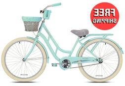 26 cruiser bike womens adults bicycle girl