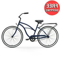 """26"""" Cruiser Bike Womens Adults Bicycle Girls 26-inch Wheels"""