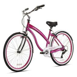 Kent Del Rio Womens Cruiser Bike 7 Speed Bicycle Deluxe Town
