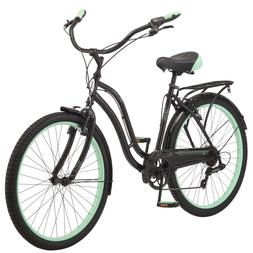 "26"" Schwinn Fairhaven Cruiser Bike, Black"