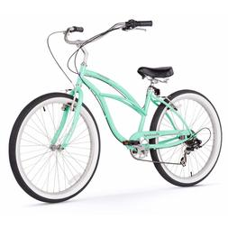 "26"" Firmstrong Urban Lady Seven Speed Women's Beach Cruiser"