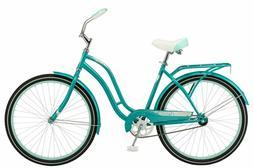"Schwinn 26"" Huntington Womens Cruiser Bike, Teal In Hand! Sh"