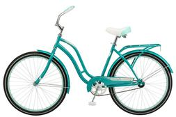 26 huntington womens cruiser bike teal in