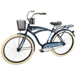 26 In Men's Classic Cruiser Bike Steel Frame Bicycle 26Er Fr