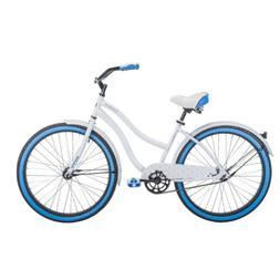 Huffy 26 Inch Women's Cruiser Bike In White