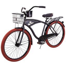 """Huffy 26"""" Men's Nel Lusso Single-Speed Comfort Cruiser Bik"""