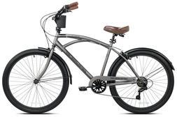 "Kent 26"" Mens Bayside Cruiser Bike Bicycle Beach 7 Speed S"