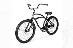 26 Mens Beach Cruiser Bike Vintage Bicycle Comfort Seat Outd