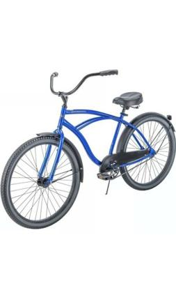 "HUFFY 26"" MEN'S CRANBROOK CRUISER BIKE BLUE IN BOX"
