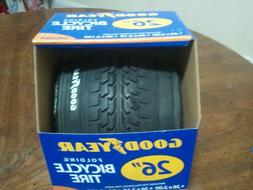 "GOODYEAR 26""  MOUNTAIN CRUISER BIKE FOLDING TIRE 1 PAIR 26X2"
