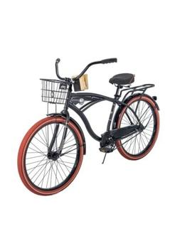 """Huffy 26"""" Nel Lusso Cruiser with Perfect Fit Frame Men's Bik"""
