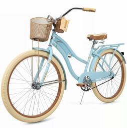 "Huffy 26"" Nel Lusso Women's Classic Cruiser Bike with Perfec"