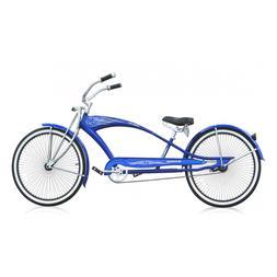 "26"" Stretch Beach Cruiser Bike 68 spokes Spring Fork Micargi"