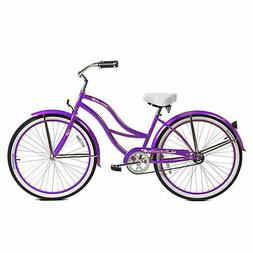 "Micargi 26"" Tahiti Lady beach cruiser bicycle bike Purple"