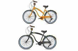 """Margaritaville 26"""" Women's & Mens Cruiser Bike w/ Sturdy Han"""