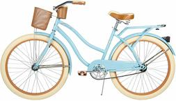 """Huffy 26"""" Womens Nel Lusso Cruiser Bike with Perfect Fit Fra"""