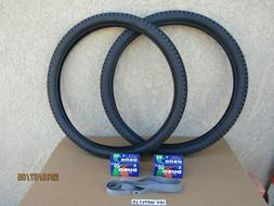 26'' X 2.125 BICYCLE TIRES,  TUBES &  LINERS FOR MOUNTAIN BI