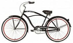 "Micargi 3 speed 26"" Tahiti Men beach cruiser bicycle bike Bl"