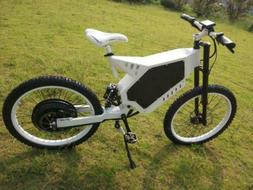 3000W-8000W Power Stealth Bomber Electric Mountain Bike Ebik