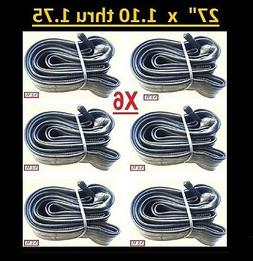 """6x Bicycle 27"""" Bike Cycle Inner Tube 27 x 1.10 thru 1.75 TB"""