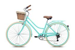 7- Speed Women's Cruiser Bike with Basket. Pick UP ONLY Los