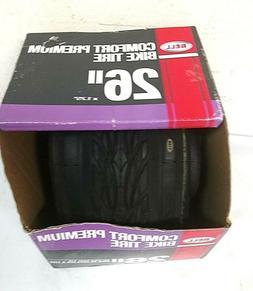 """Bell 7091021 Premium Comfort Bike Tire, 26"""" x 1.75-1.75"""", Bl"""